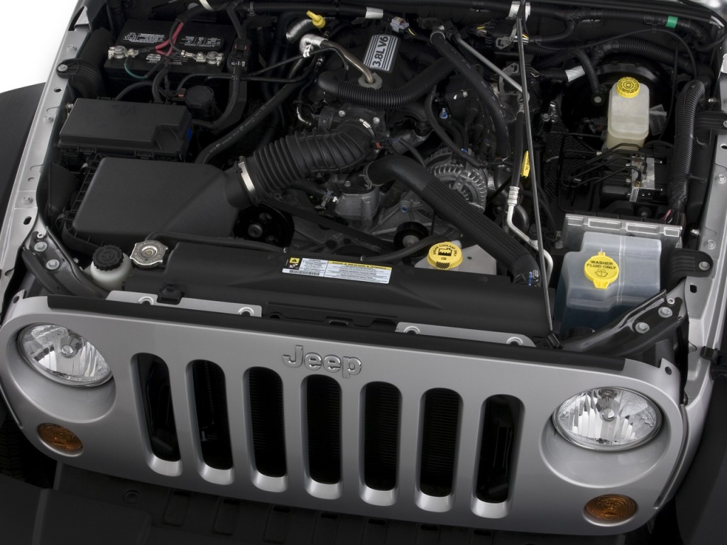 Image 2008 jeep wrangler 4wd 4 door unlimited x engine for 2008 jeep wrangler motor