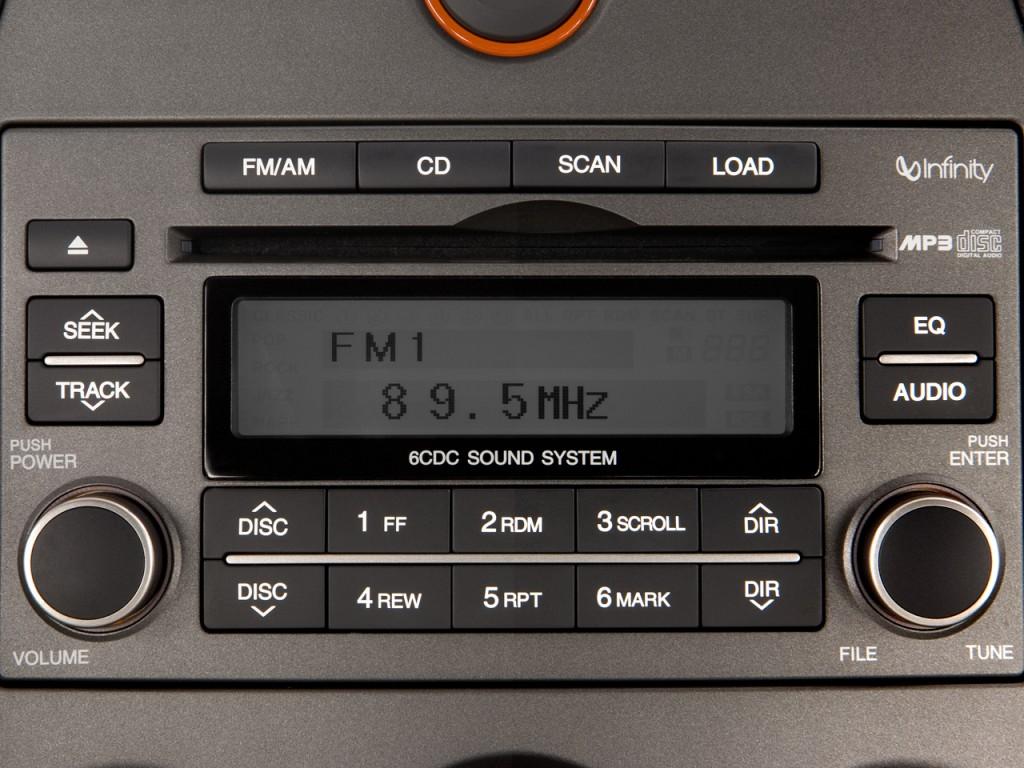Image 2008 Kia Rondo 4 Door Wagon V6 EX Audio System