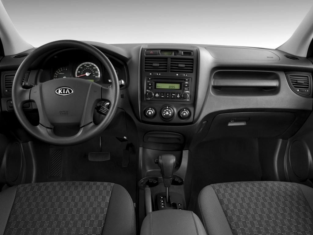 Image 2008 Kia Sportage 2wd 4 Door I4 Auto Lx Dashboard