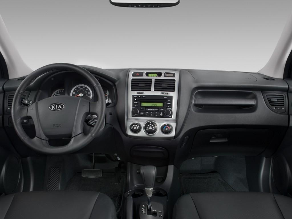 Image: 2008 Kia Sportage 2WD 4-door V6 Auto EX Dashboard ...