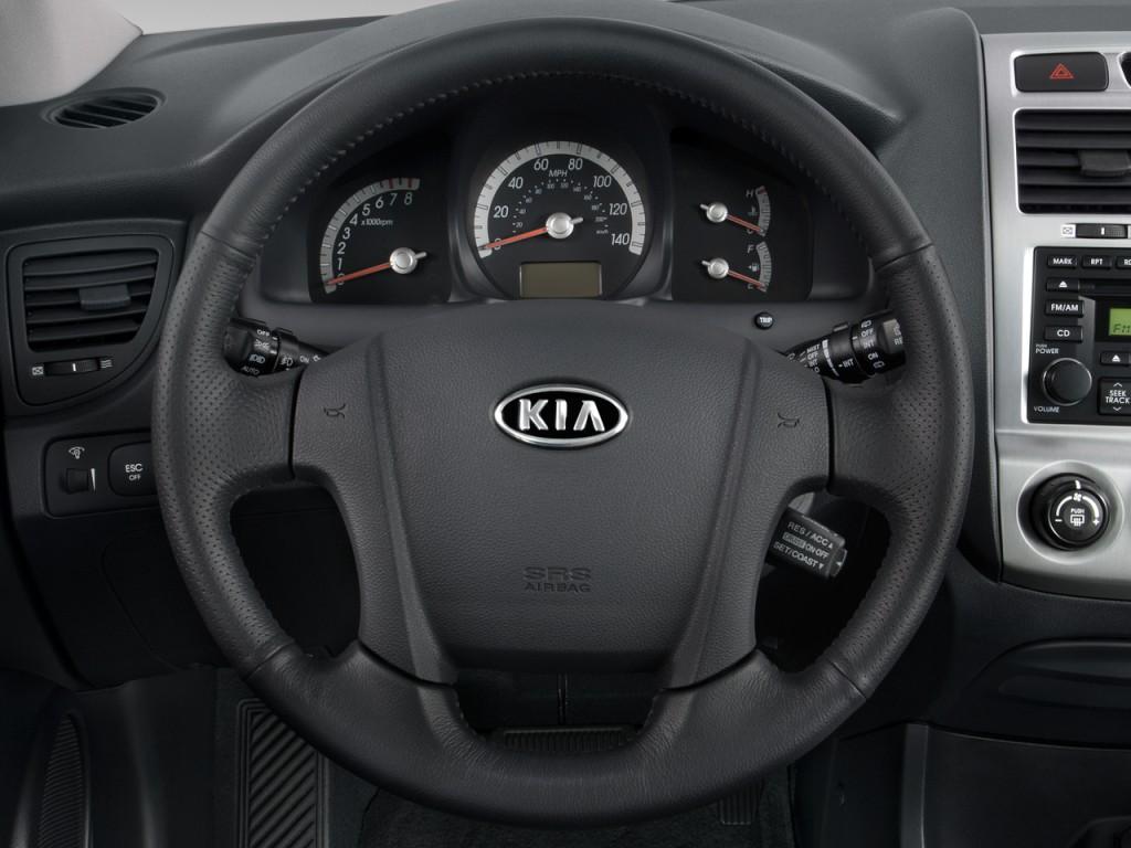 Used Kia Niro >> Image: 2008 Kia Sportage 2WD 4-door V6 Auto EX Steering Wheel, size: 1024 x 768, type: gif ...