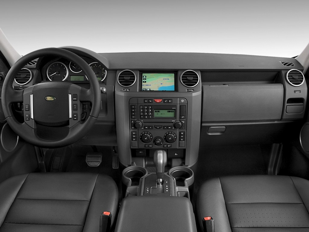 Image: 2008 Land Rover LR3 4WD 4-door HSE Dashboard, size ...