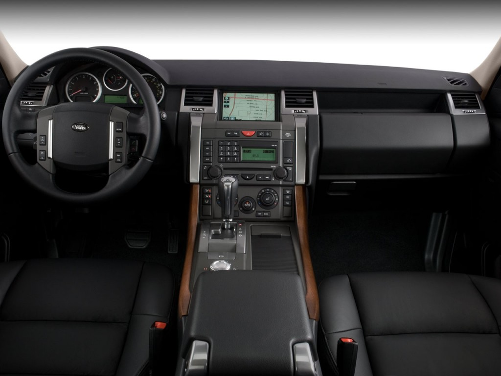 image 2008 land rover range rover sport 4wd 4 door sc dashboard size 1024 x 768 type gif. Black Bedroom Furniture Sets. Home Design Ideas
