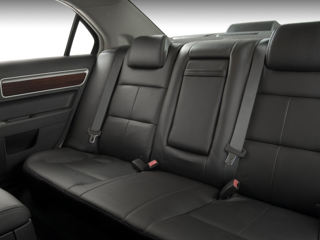 image 2008 lincoln mkz 4 door sedan awd rear seats size. Black Bedroom Furniture Sets. Home Design Ideas