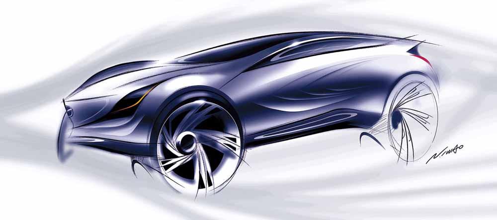 2008 Mazda Crossover Concept