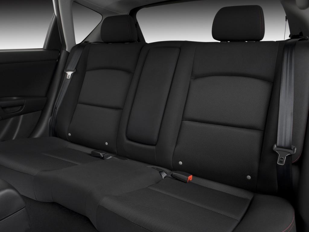 Mazdaspeed3 For Sale >> Image: 2008 Mazda MAZDA3 5dr HB Man MAZDASPEED3 Sport Rear Seats, size: 1024 x 768, type: gif ...
