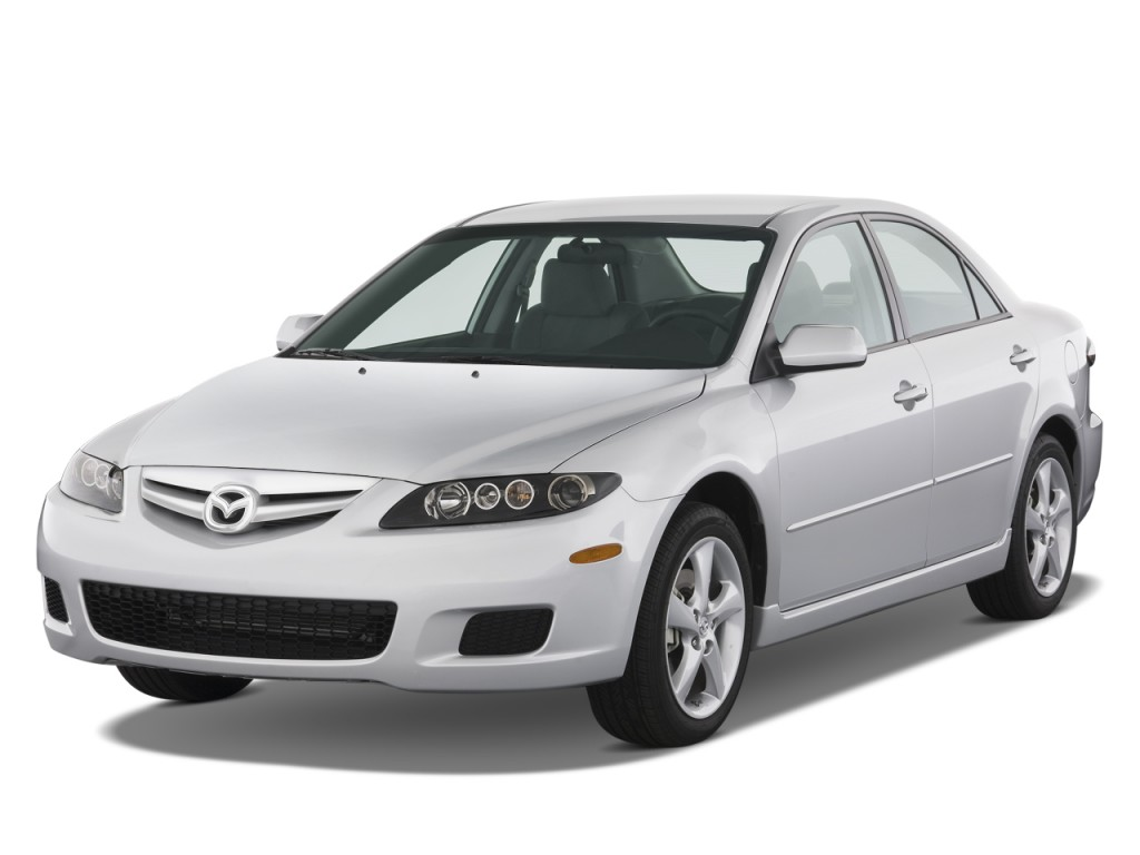 image 2008 mazda mazda6 4 door sedan man i sport angular. Black Bedroom Furniture Sets. Home Design Ideas