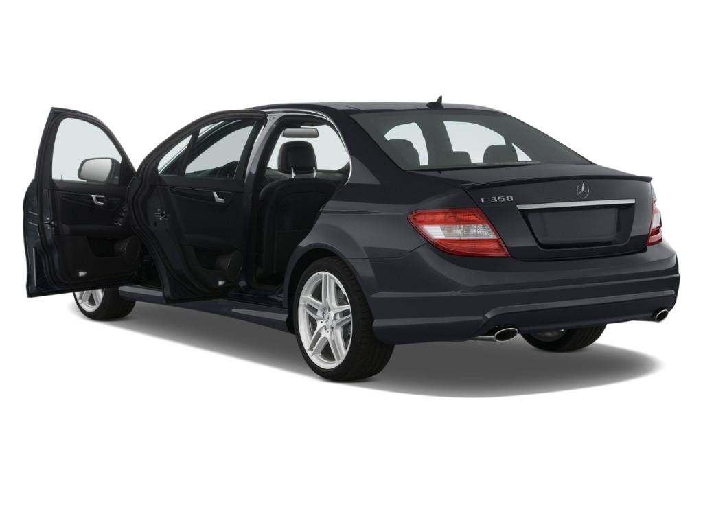Image 2008 mercedes benz c class 4 door sedan 3 5l sport for Mercedes benz 4 door coupe