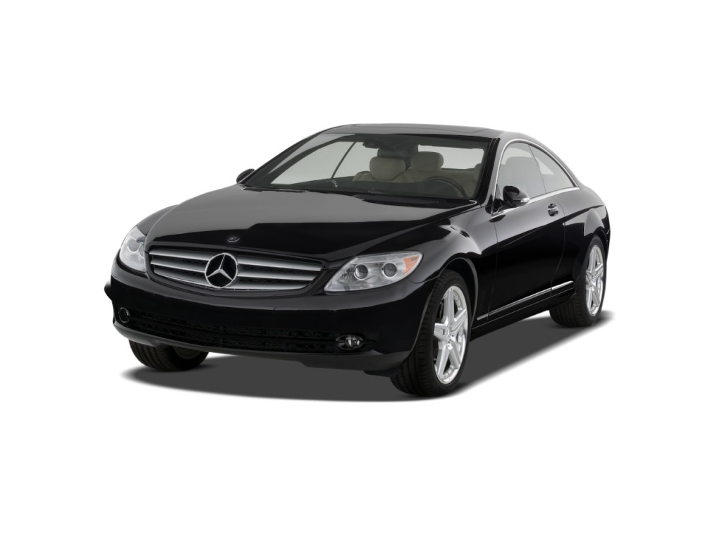 Image 2008 mercedes benz cl class 2 door coupe 5 5l v8 for 2008 mercedes benz r350 recalls
