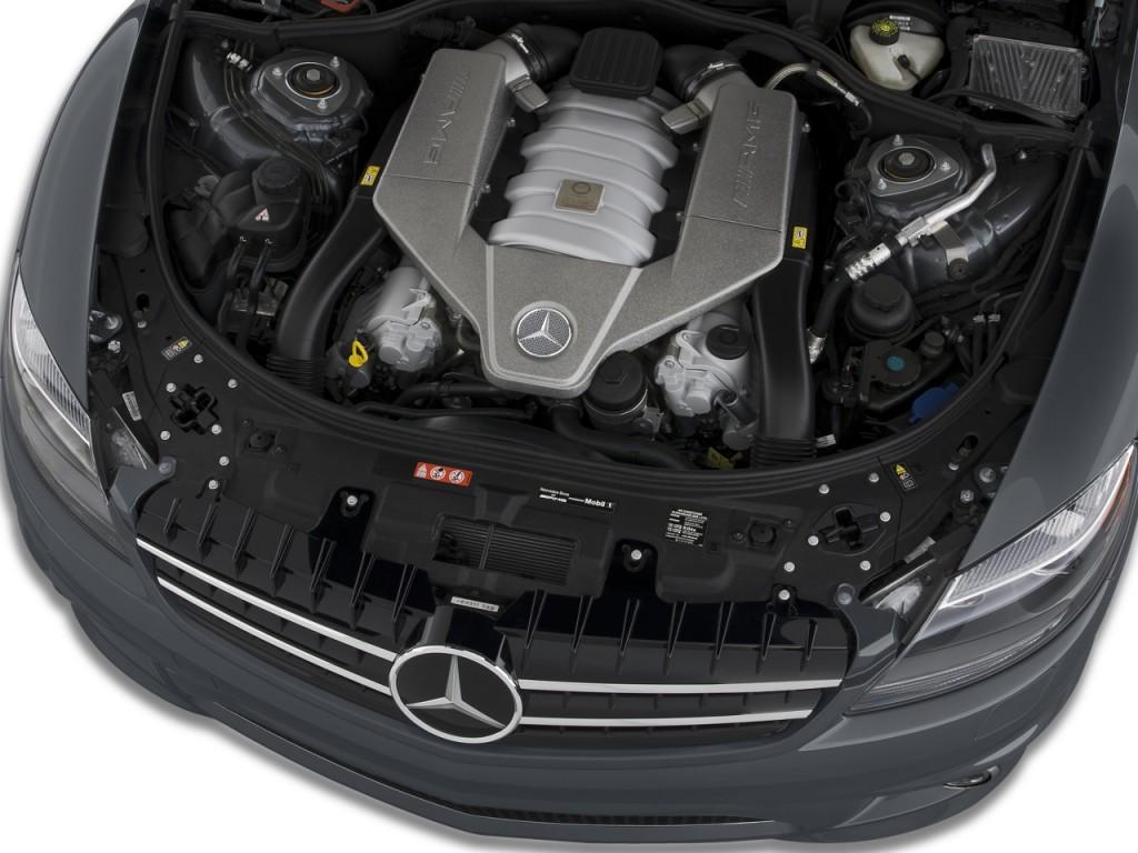 Image 2008 mercedes benz cl class 2 door coupe 6 3l v8 for Mercedes benz v8 engine