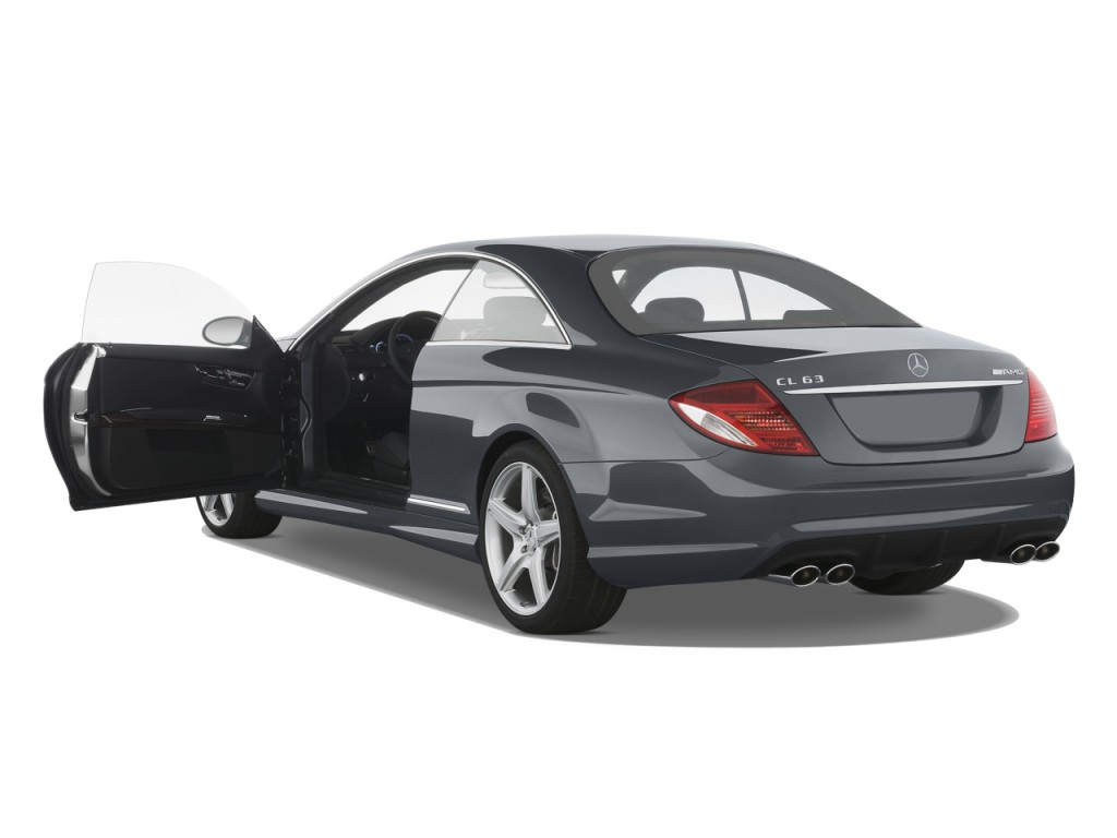 image 2008 mercedes benz cl class 2 door coupe 6 3l v8. Black Bedroom Furniture Sets. Home Design Ideas