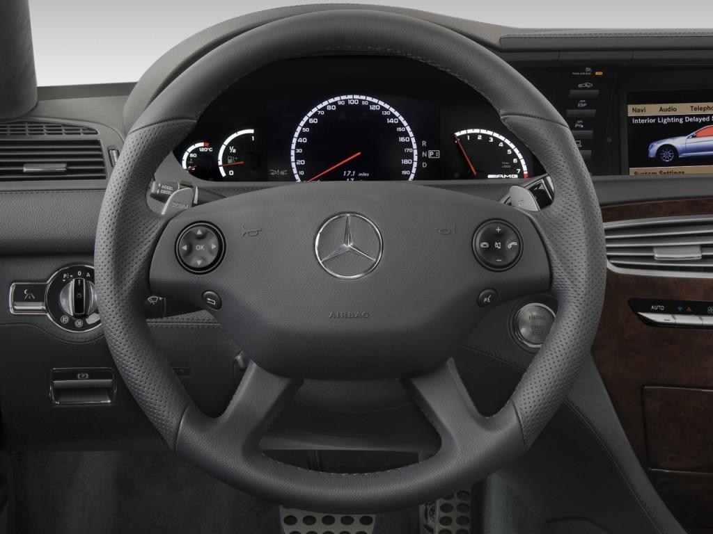 Image 2008 mercedes benz cl class 2 door coupe 6 3l v8 for Mercedes benz 6 wheel