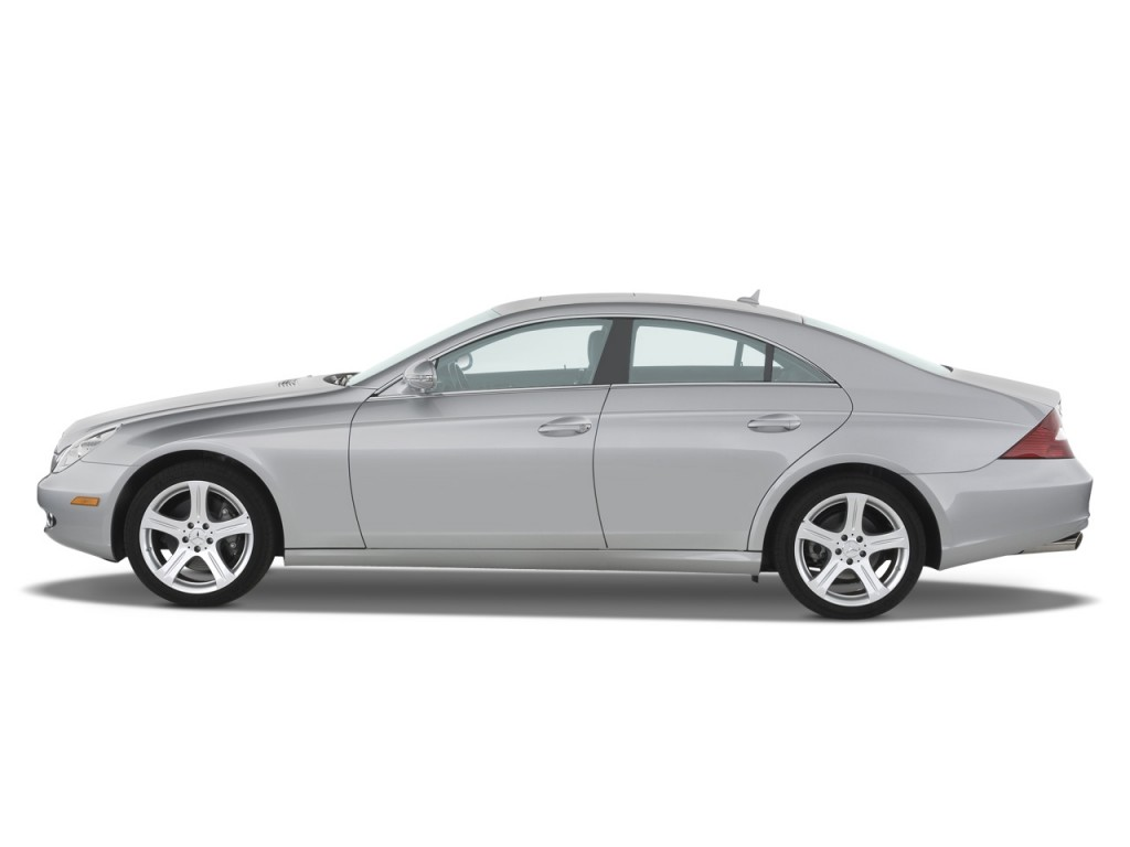 Image 2008 mercedes benz cls class 4 door sedan 5 5l side for 2008 mercedes benz r350 recalls