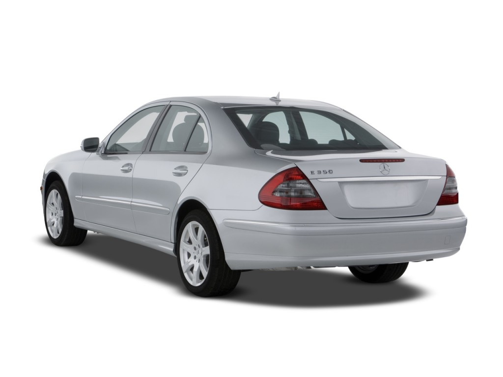 Image 2008 mercedes benz e class 4 door sedan luxury 3 5l for 2008 mercedes benz r350 recalls