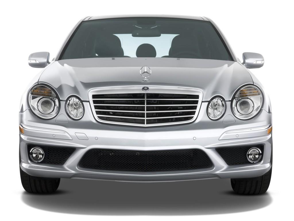 image 2008 mercedes benz e class 4 door wagon 6 3l amg rwd front exterior view size 1024 x. Black Bedroom Furniture Sets. Home Design Ideas