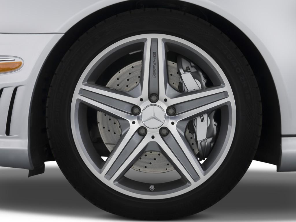 Image 2008 mercedes benz e class 4 door wagon 6 3l amg for Mercedes benz wheel caps