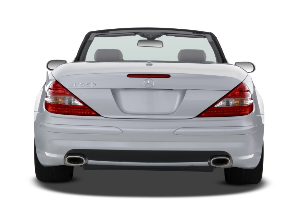 Image 2008 mercedes benz sl class 2 door roadster 5 5l v8 for 2008 mercedes benz r350 recalls