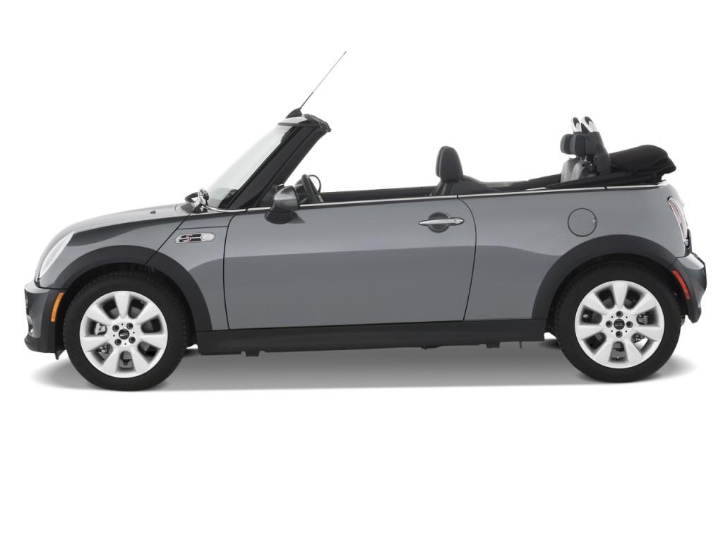 image 2008 mini cooper convertible 2 door s side exterior view size 1024 x 768 type gif. Black Bedroom Furniture Sets. Home Design Ideas