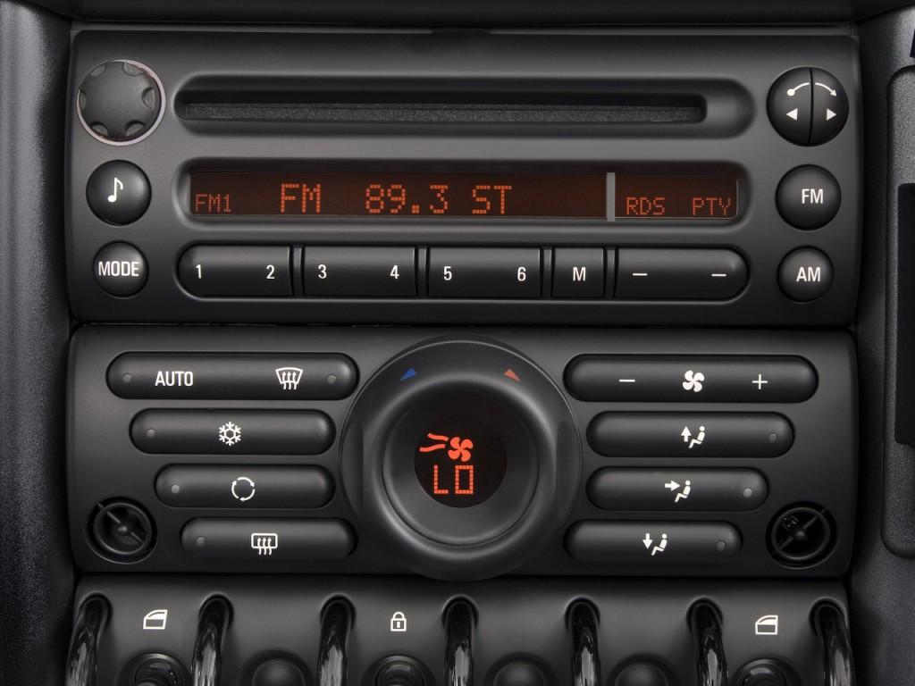 Temperature Controls 2008 MINI Cooper Convertible 2 door #B73114