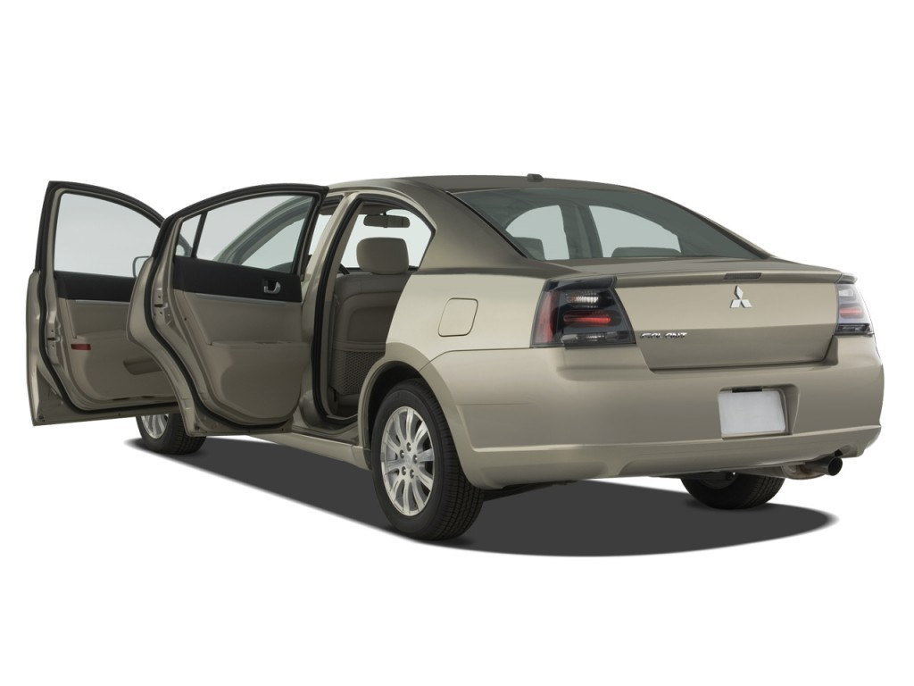 Image 2008 Mitsubishi Galant 4 Door Sedan Es Open Doors
