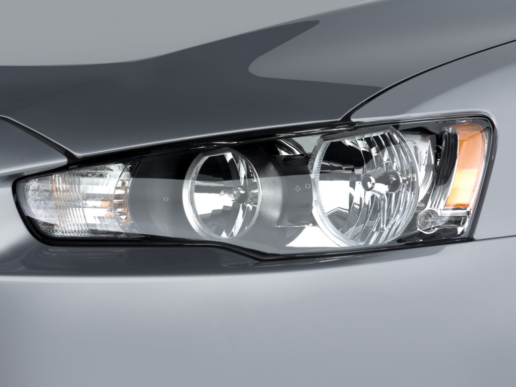 Image: 2008 Mitsubishi Lancer 4-door Sedan CVT GTS Headlight, size: 1024 x 768, type: gif ...