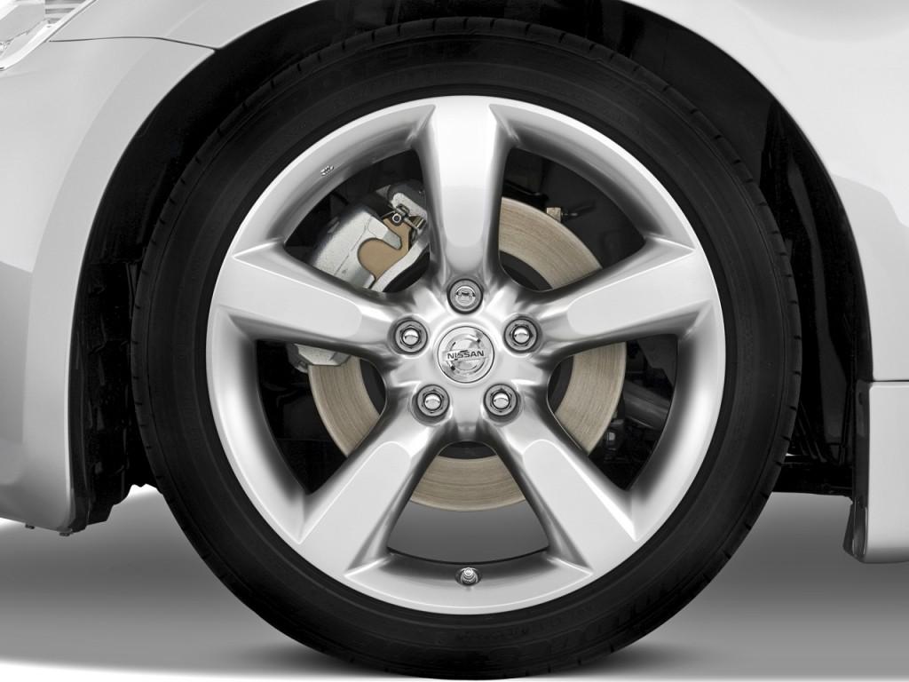 Image: 2008 Nissan 350Z 2-door Coupe Man Wheel Cap, size ...