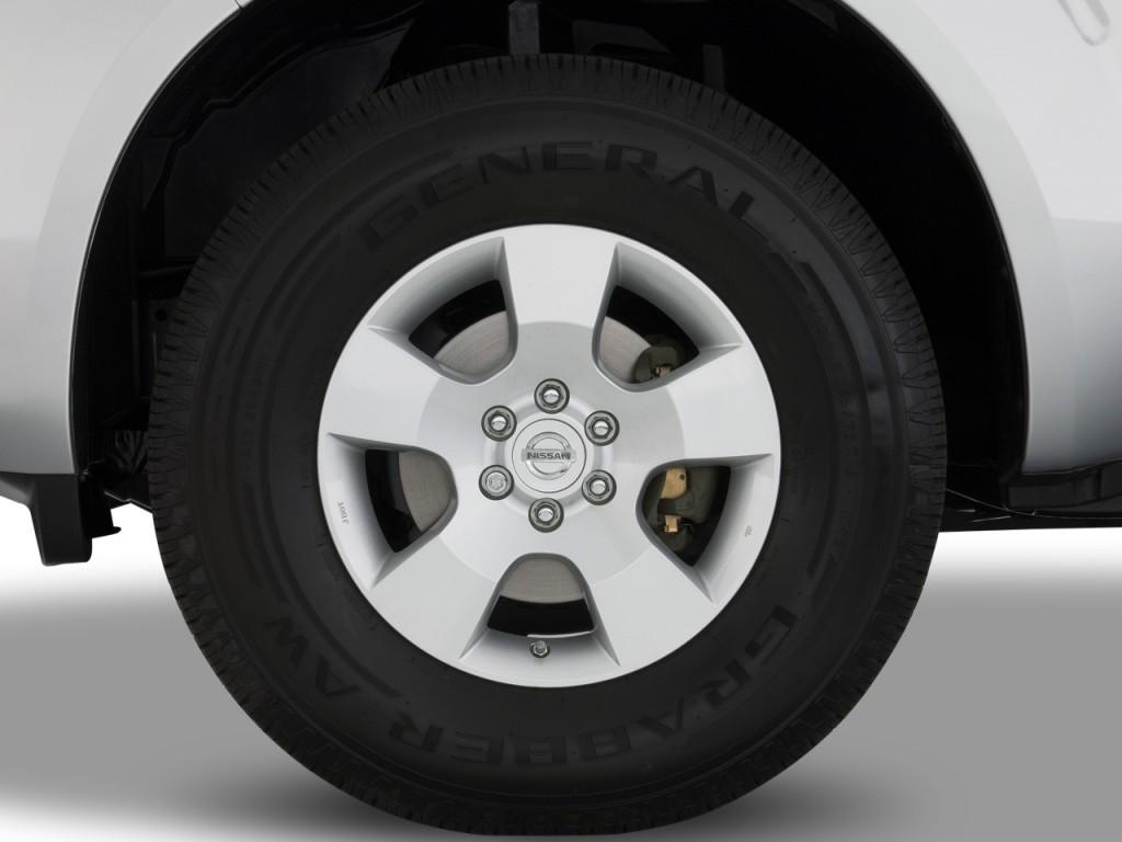 Image 2008 Nissan Pathfinder 2wd 4 Door V6 Se Wheel Cap