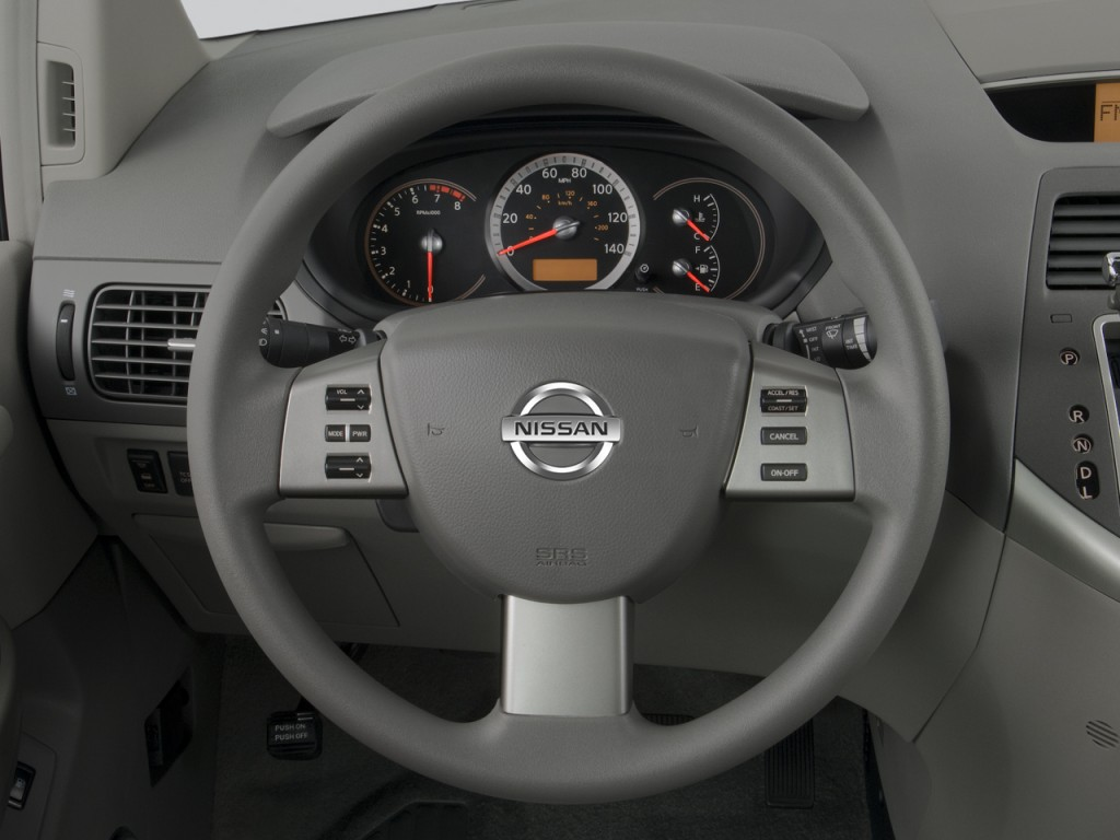 image 2008 nissan quest 4 door s steering wheel size 1024 x 768 type gif posted on. Black Bedroom Furniture Sets. Home Design Ideas