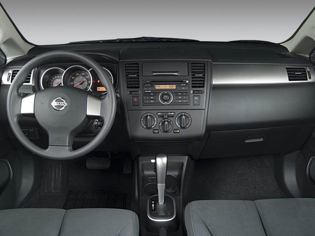 Image 2008 nissan versa 5dr hb auto s dashboard size 1024 x 768 2008 nissan versa 5dr hb auto s dashboard vanachro Images