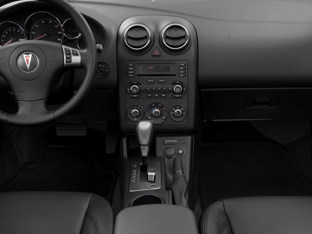 Image 2008 Pontiac G6 2 Door Convertible Gt Instrument Panel Size 1024 X 768 Type Gif
