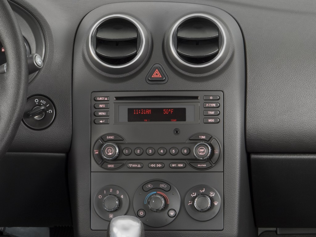 Image 2008 Pontiac G6 4 Door Sedan 1sv Value Leader Instrument Panel Size 1024 X 768 Type