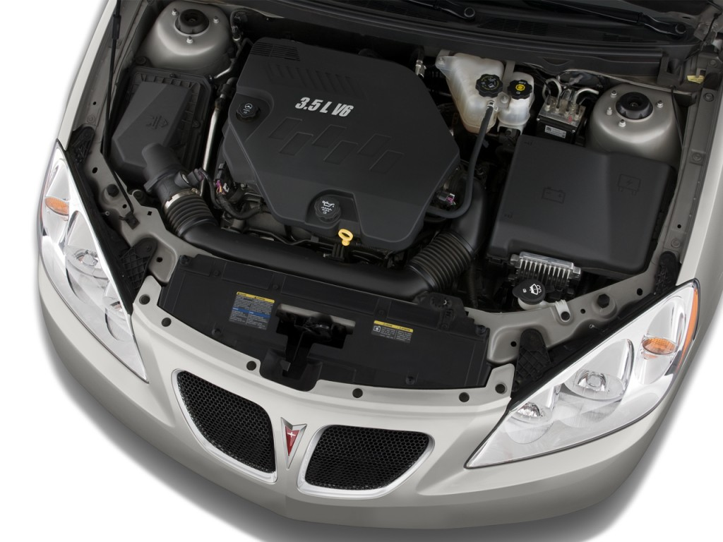 2008 Pontiac G6 4-door Sedan GT Engine