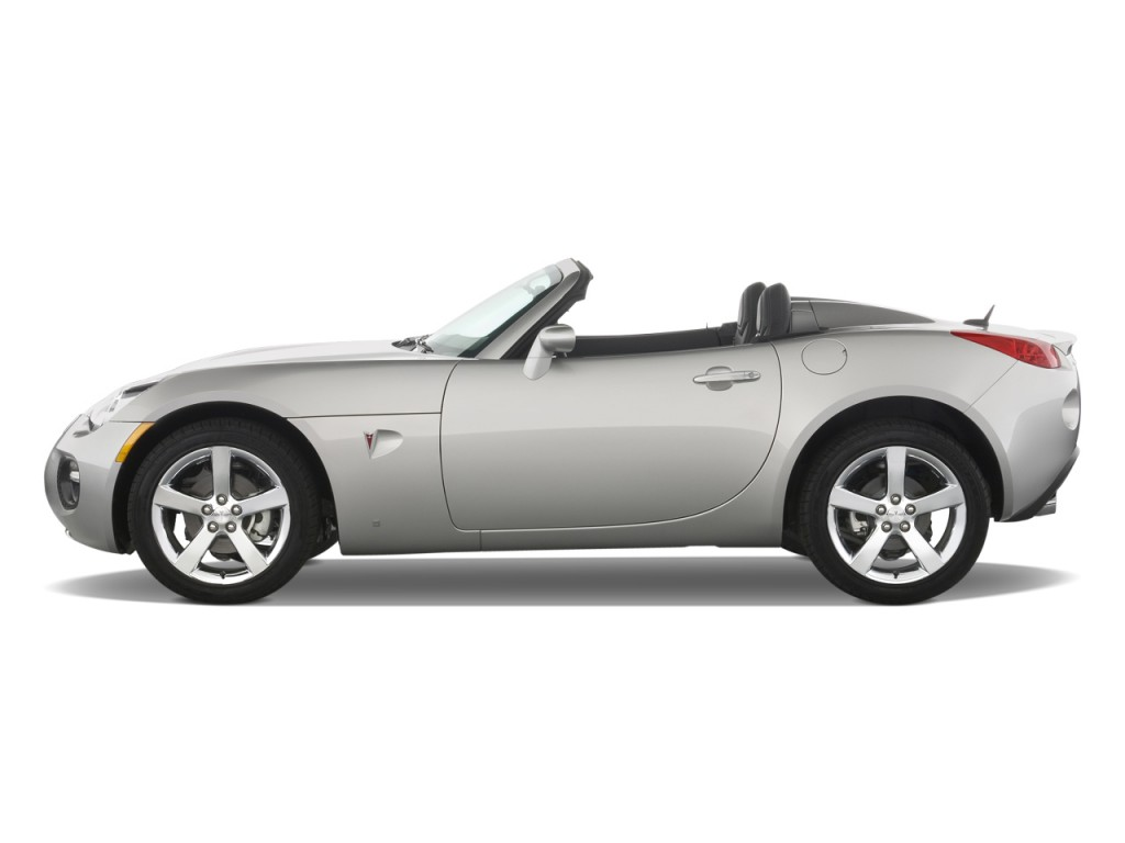 image 2008 pontiac solstice 2 door convertible gxp side. Black Bedroom Furniture Sets. Home Design Ideas