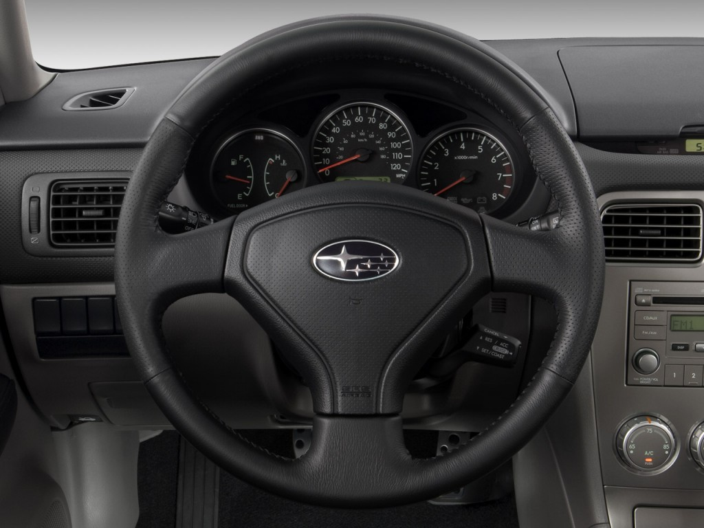 image 2008 subaru forester 4 door auto sports x steering wheel size 1024 x 768 type gif. Black Bedroom Furniture Sets. Home Design Ideas