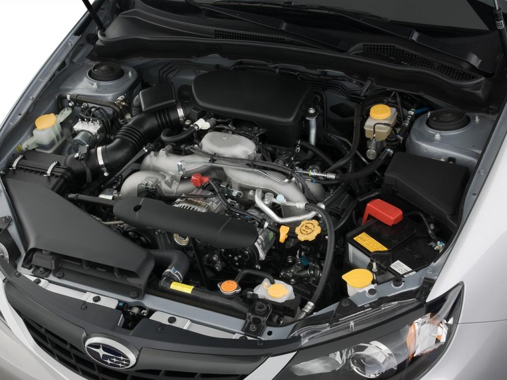 Image: 2008 Subaru Impreza 4-door Auto i Engine, size ...