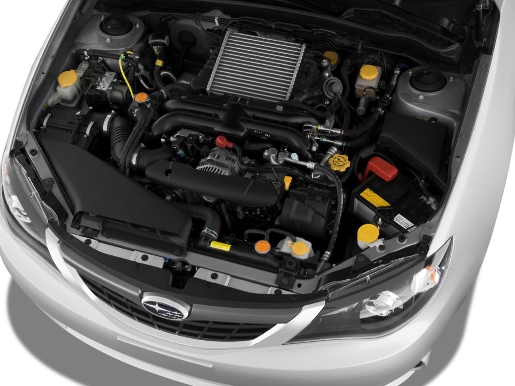 Image: 2008 Subaru Impreza 5dr Man WRX Engine, size: 1024 ...