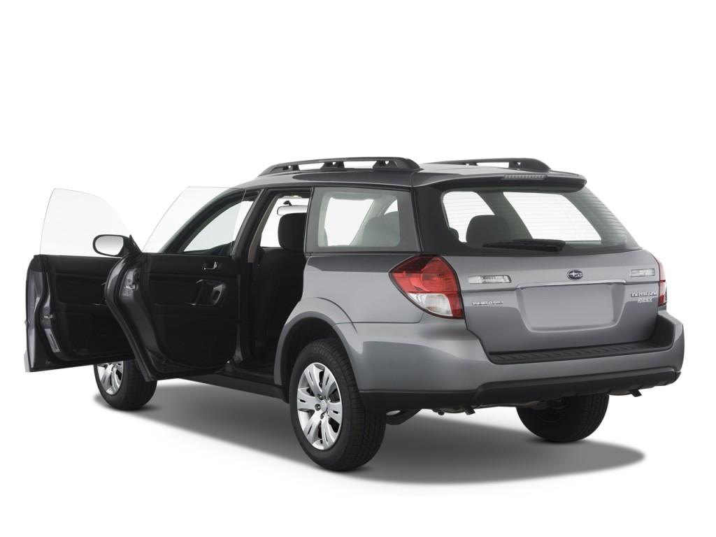 Forester Vs Outback >> Image: 2008 Subaru Legacy Outback 4-door H4 Auto Open ...