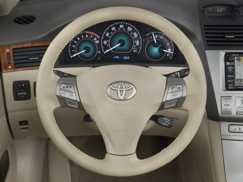 image 2008 toyota camry solara 2 door convertible v6 auto sle natl steering wheel size 1024. Black Bedroom Furniture Sets. Home Design Ideas