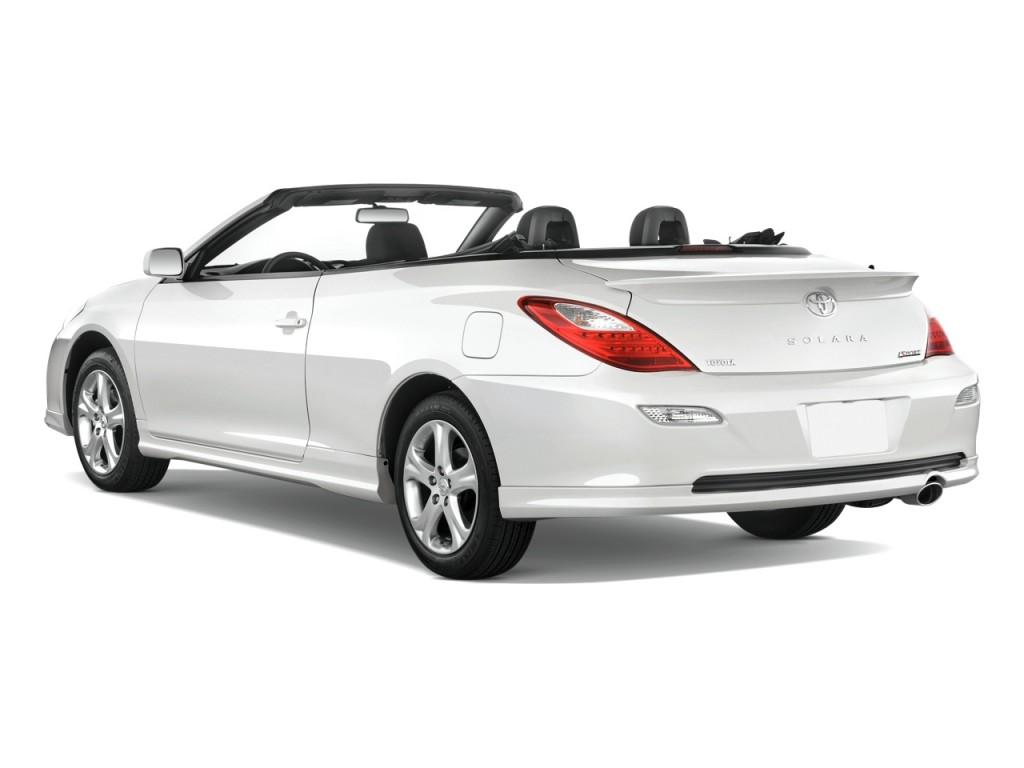 image 2008 toyota camry solara 2 door convertible v6 auto sport natl angular rear exterior. Black Bedroom Furniture Sets. Home Design Ideas