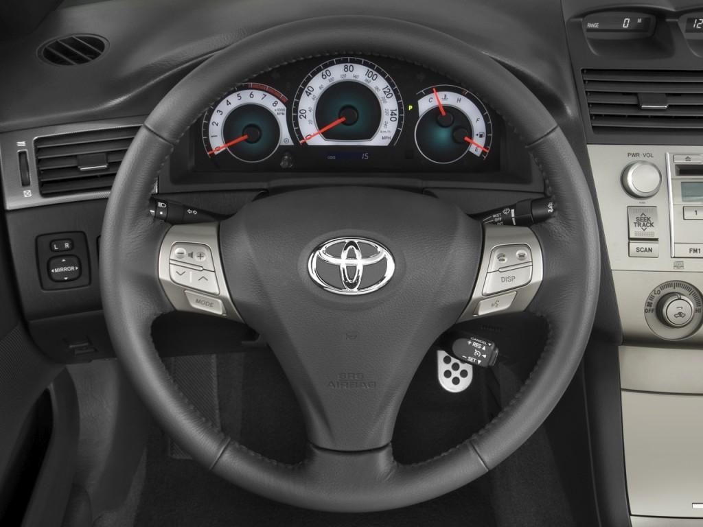 image 2008 toyota camry solara 2 door convertible v6 auto sport natl steering wheel size. Black Bedroom Furniture Sets. Home Design Ideas