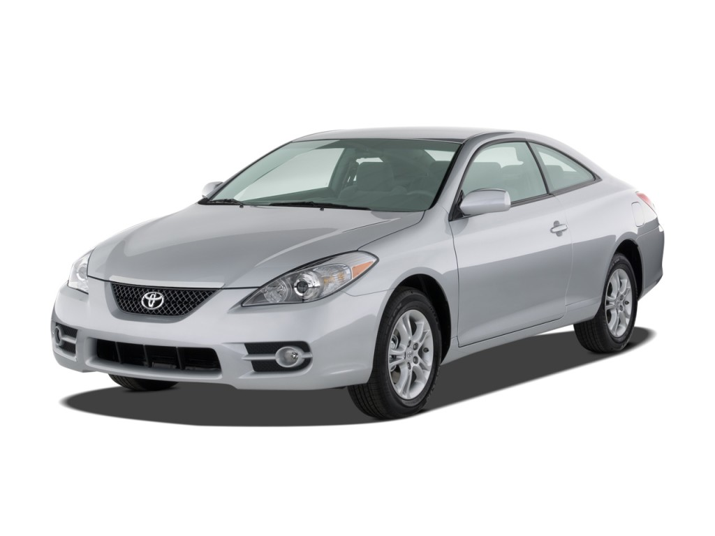 image 2008 toyota camry solara 2 door coupe v6 auto se natl angular front exterior view size. Black Bedroom Furniture Sets. Home Design Ideas