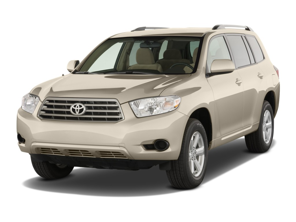 2008 Toyota Highlander FWD 4-door Base (Natl) Angular Front Exterior View