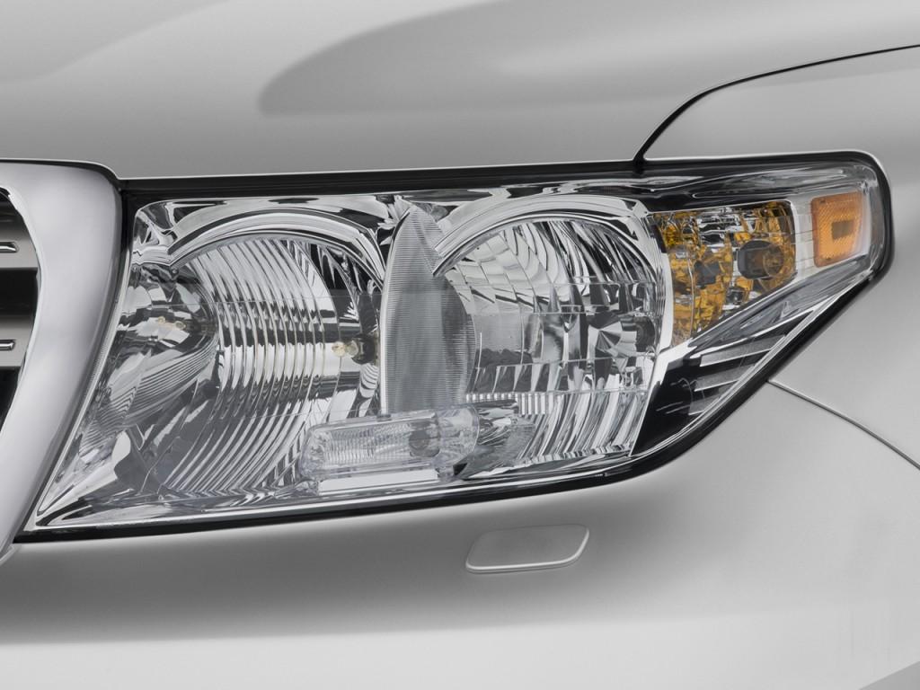 Toyota Land Cruiser Door Wd Natl Headlight L