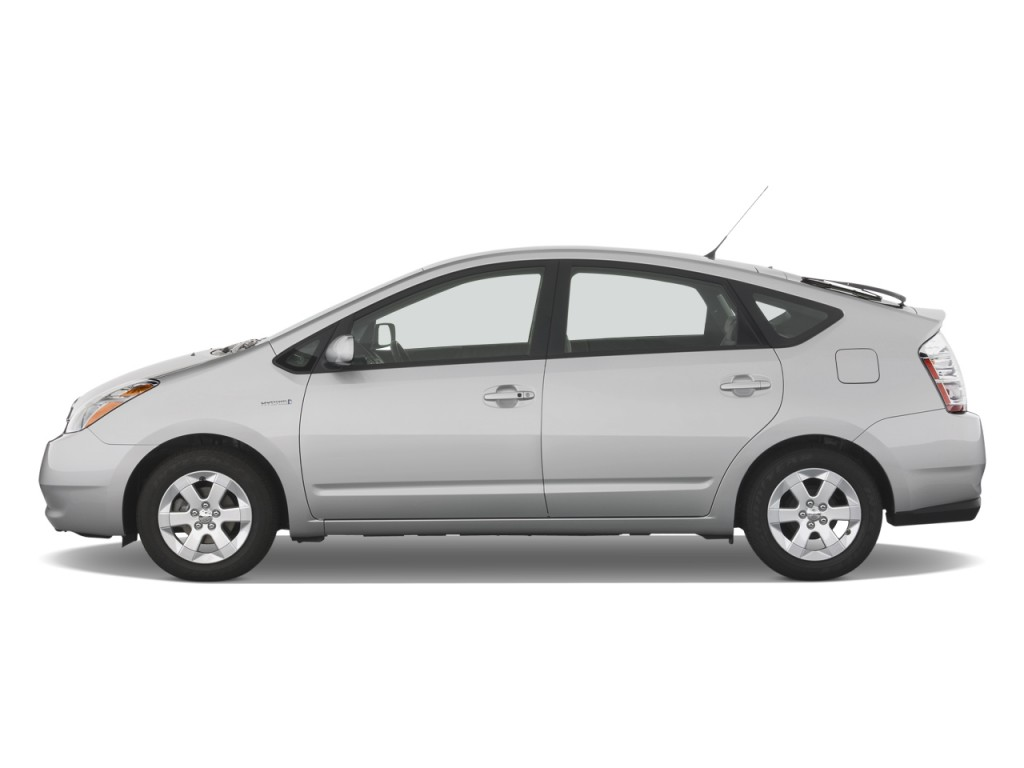 2008 Toyota Prius 5dr HB Base (Natl) Side Exterior View