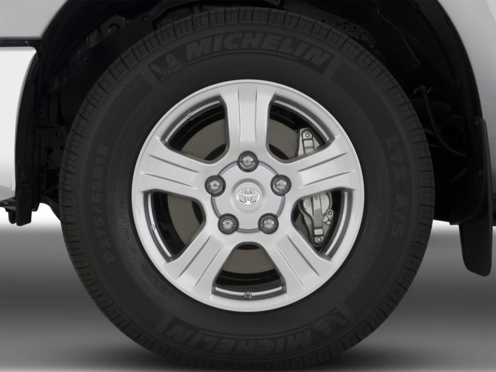 Image: 2008 Toyota Tundra Dbl LB 5.7L V8 6-Spd AT SR5 ...