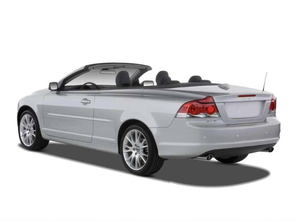 image 2008 volvo c70 2 door convertible auto angular rear exterior view size 1024 x 768 type. Black Bedroom Furniture Sets. Home Design Ideas