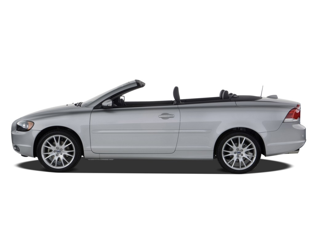 Volvo V40 Cross Country Review Top Gear >> Image: 2008 Volvo C70 2-door Convertible Auto Side Exterior View, size: 1024 x 768, type: gif ...