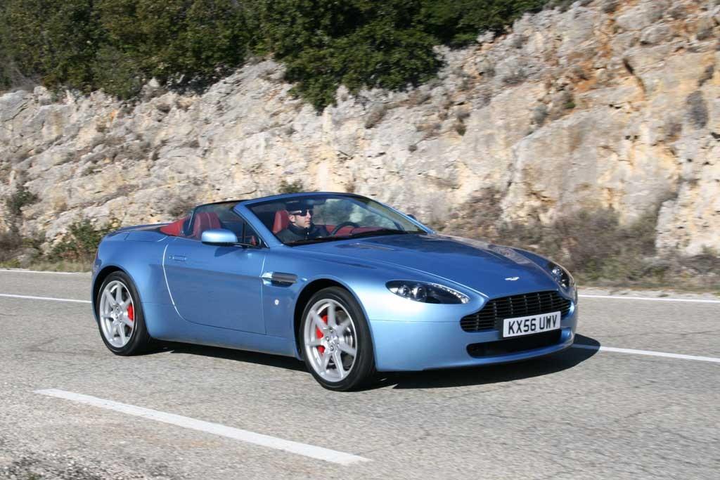 Five 2007-2008 Aston Martin Models Recalled For Suspension Problem