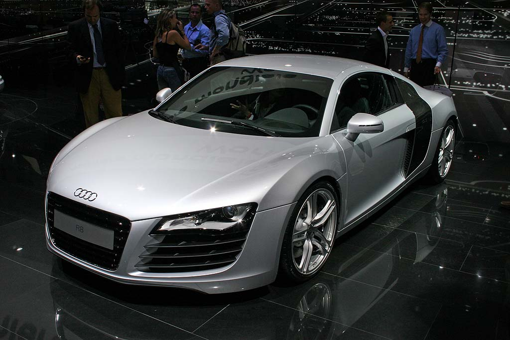 Live Photos Of The 2008 Audi R8 Direct From Paris