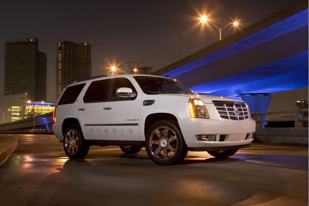 2008 Cadillac Escalade Hybrid, Los Angeles Auto Show
